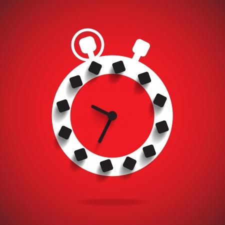 cover background time: time illustration  Illustration