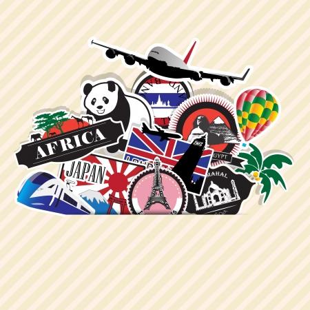 travel Illusztráció