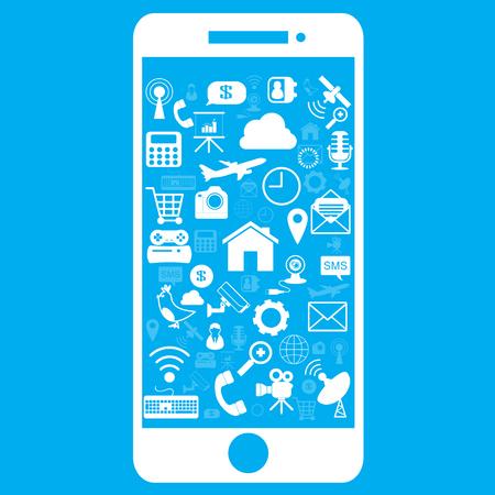 smart phone icon Vector