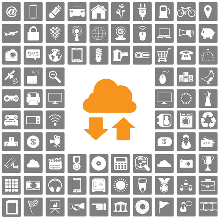 icons web set Vector