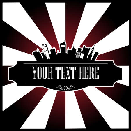 text city Vector