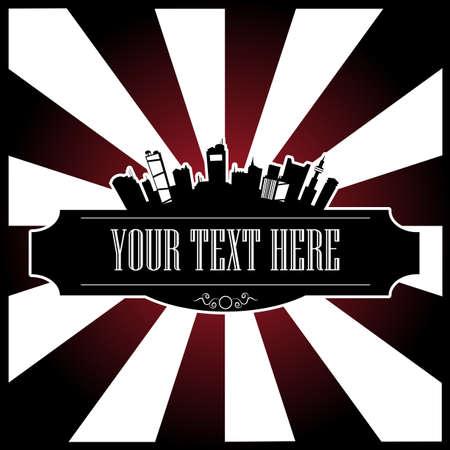 message box: text city