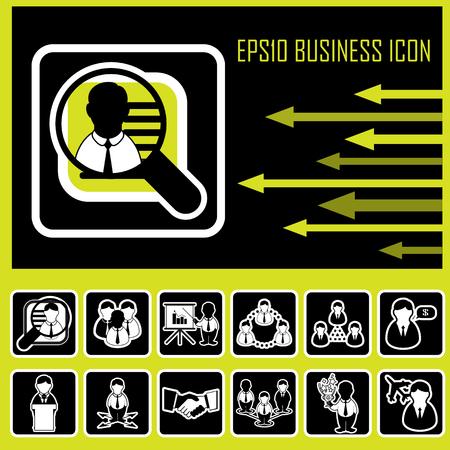Icono empresarial Foto de archivo - 22456184