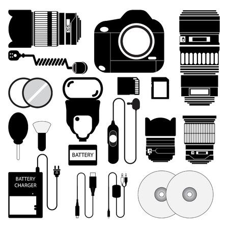 digital slr: Camera set