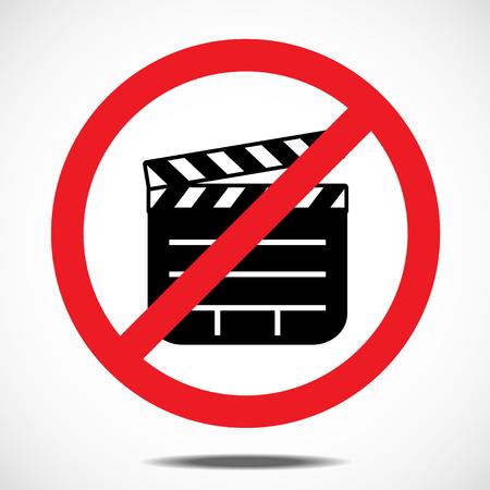 camera symbol: No Filming