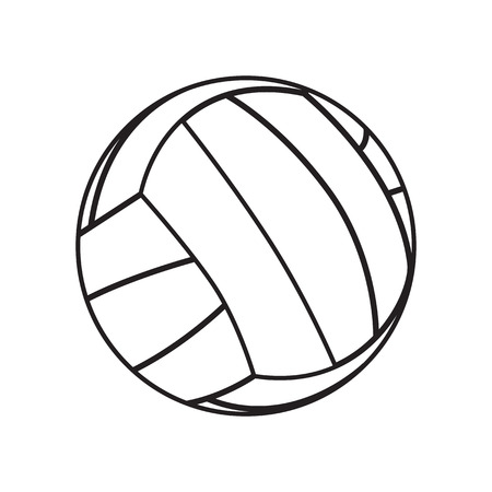 volley ball: volleyball ball