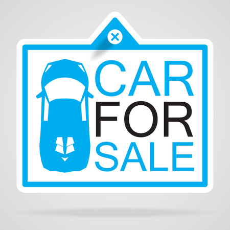car label info Stock Vector - 23867534