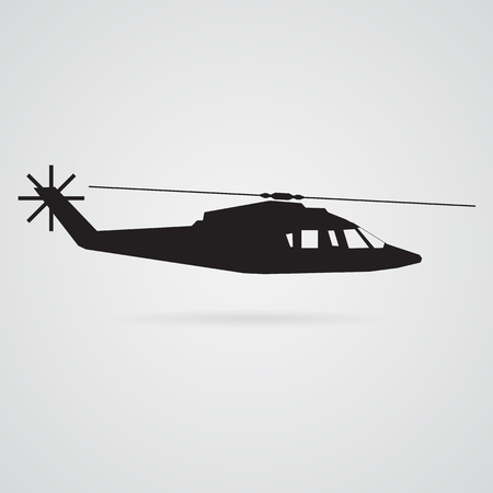 helicopter luxury vector Vector