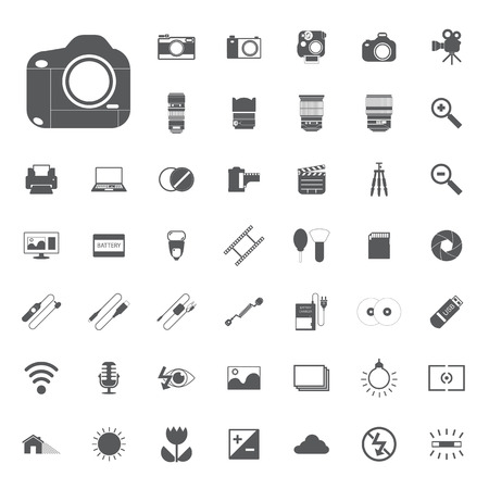 metering: camera Photography icons