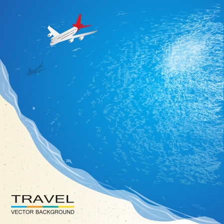 sea view: Travel on the beach