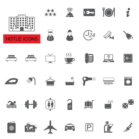 restaurante: ícones do hotel