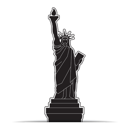 Statue of Liberty Icons, symbol Vector