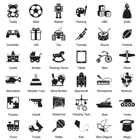 Toys icon Illustration