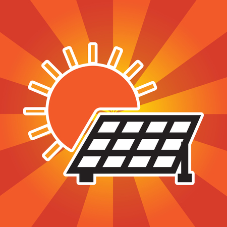 solar cells icon Vector