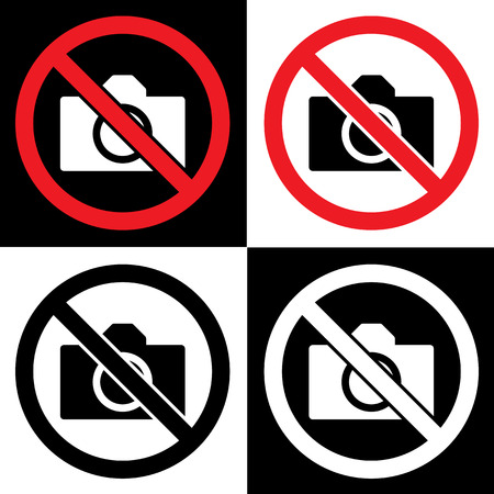 no photo and camera Vector