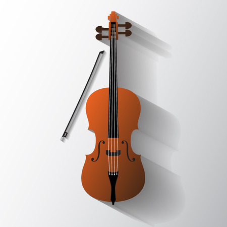 Cello vector symbol Vector