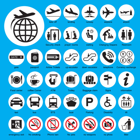 airport lounge: Icon Airport set