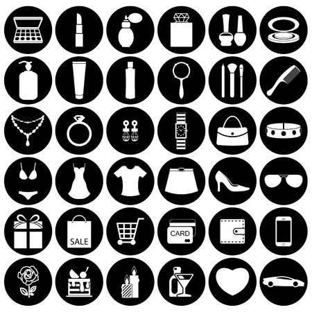 Moda e accessori donna, icone