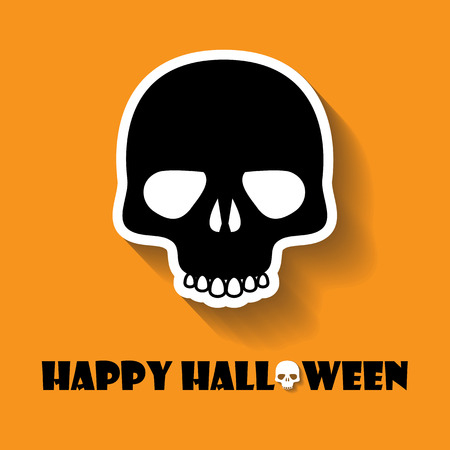 skull vector: skull halloween icon