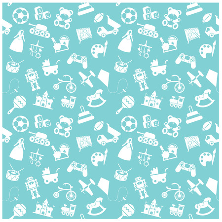 toy icon and Background Vector