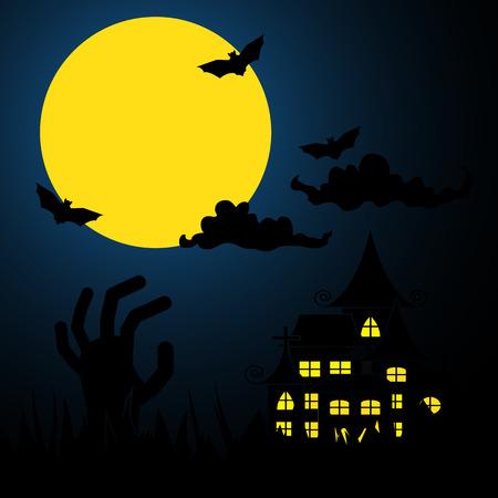 halloween Events Background Vector