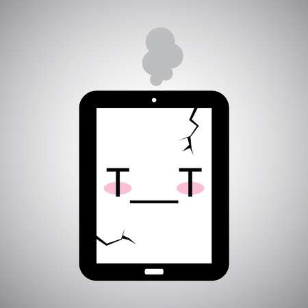 troubleshoot: sick Tablet icon
