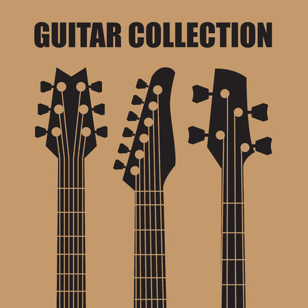 Vector guitars Stock Illustratie
