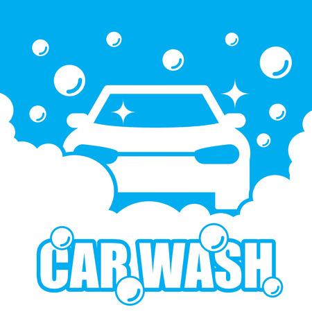 lavar: Lavado de coches vector