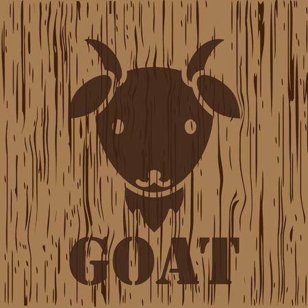sheep warning: Goats, sheep icon and symbol