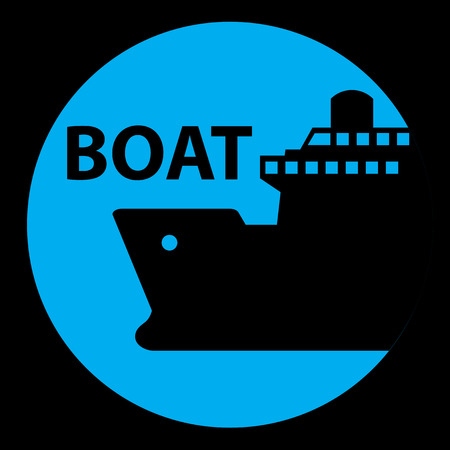 inflate boat: ship, boat, cruise, port Signs and symbol