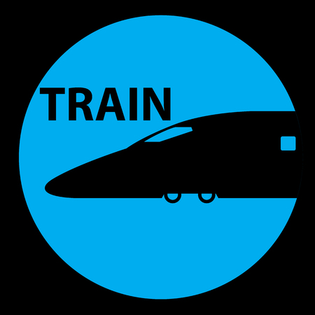 hovercraft: Train Station Signs and symbol Illustration