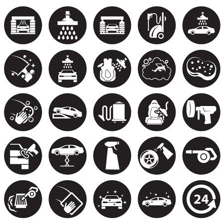 Car wash icon Vettoriali