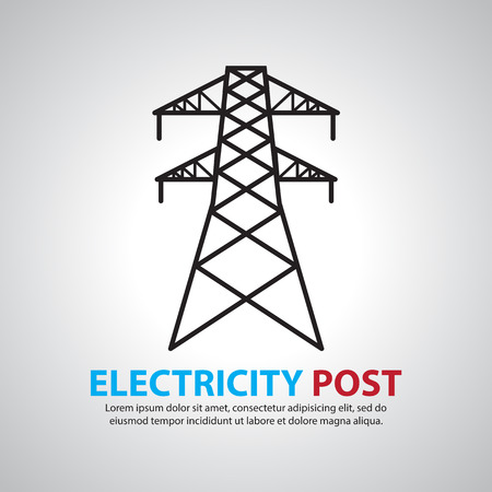 post: electric post,high voltage set