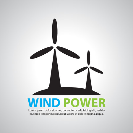 windfarms: wind turbine icon
