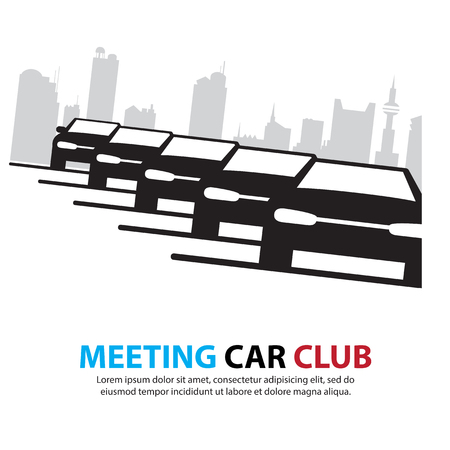 car detail: car driving on a City streets