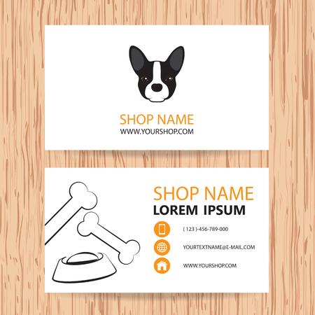 Business card vector background veterinaryshop animal feed royalty business card vector background veterinaryshop animal feed stock vector 39842082 colourmoves