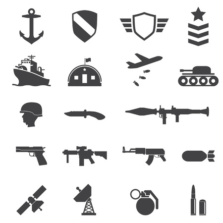military helmet: Military icons