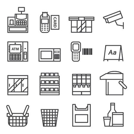 convenience: Convenience Store Equipment  icon