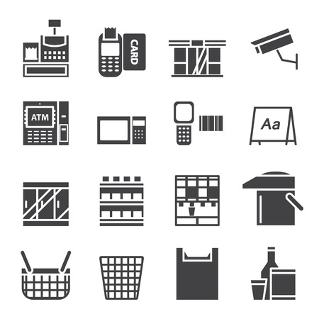 convenient store: Convenience Store Equipment  icon