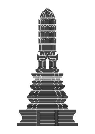 antiquities: Thailand Temple vector