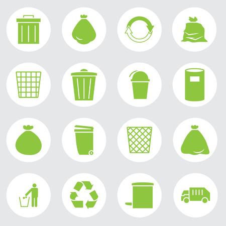 trashcan: trashcan icon set