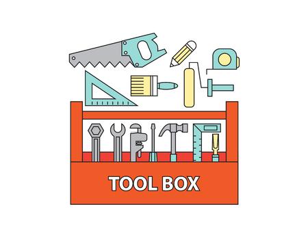 tool box , vector Ilustração