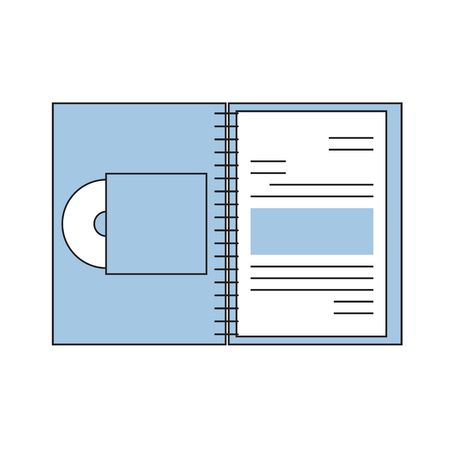 folder with documents: folder with a documents