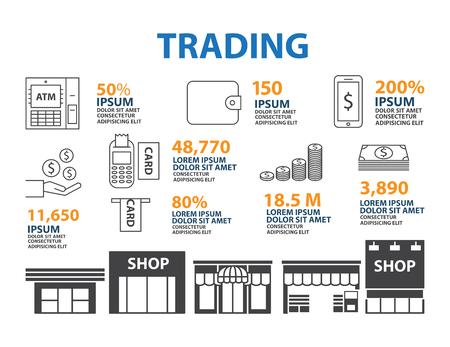 finance department: Money line icon  Infographic