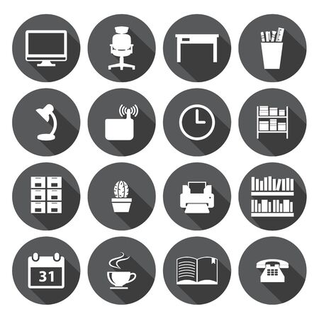 office icon: Office icon Set