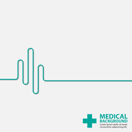 identity template: Medical background design template.vector Illustration