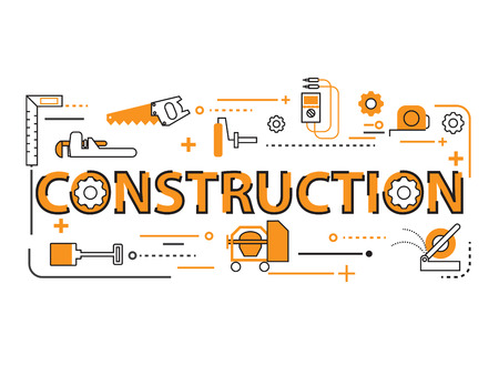 construction equipment: Construction Tool Background Equipment