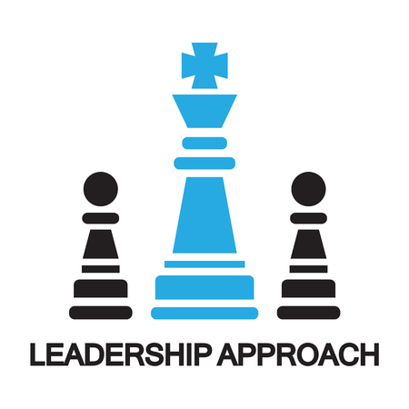 approach: leadership approach  ,icon and symbol
