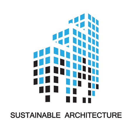 architecture: sustainable architecture,building,icon and symbol