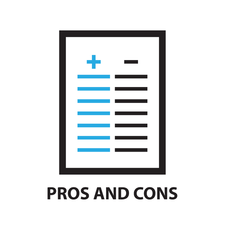 cons: pros and cons ,icon and symbol